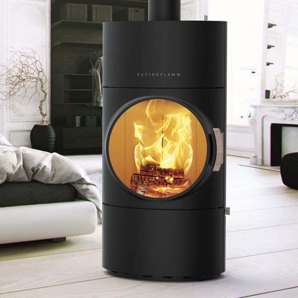 Energiezuinig verwarmen met een pelletkachel - Clou Xtra van Austroflamm via Fero