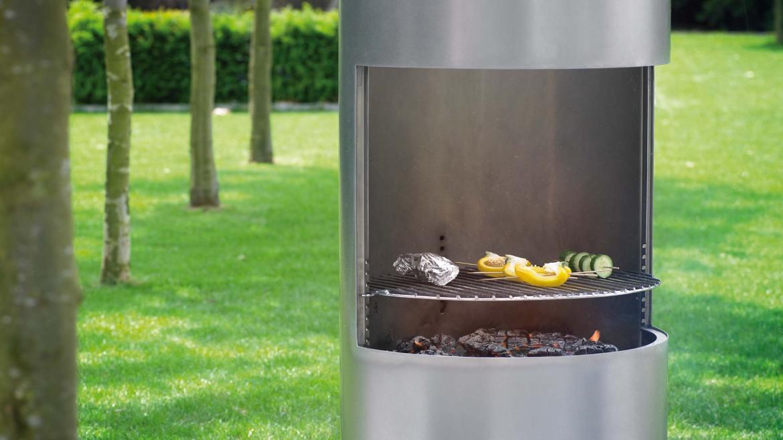 Tuinhaard Boley 912 met grillrooster voor bbq #boley #tuin #buitenleven #tuinhaard #buitenhaard #bbq #barbecue