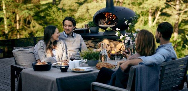 Barbecue, pizzaoven en buitenhaard Forno van Morso