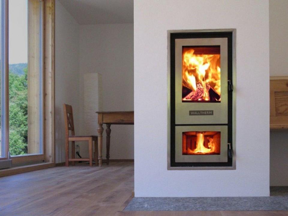Duurzaam je huis verwarmen met de Walltherm houtvergasser cv-haard van Eco2all #haard #houthaard #cvhaard