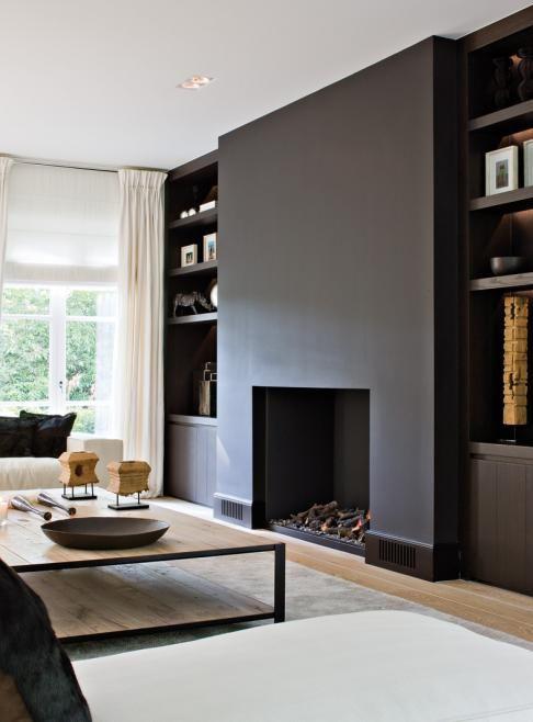 Inspirerende haarden idee n voor het interieur nieuws startpagina voor haarden en kachels - Decoratie witte lounge ...