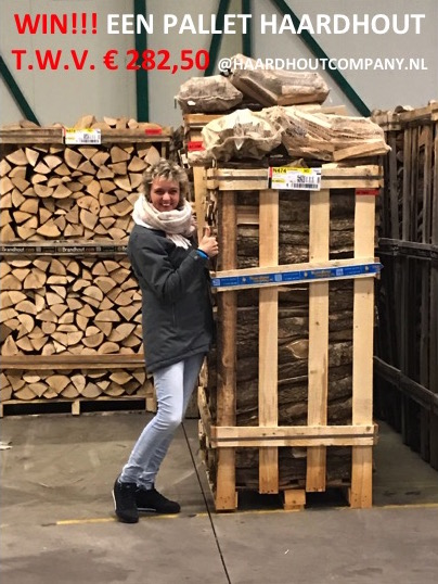 Winactie! Win een pallet ovengedroogd haardhout t.w.v. € 282,50 met haardhoutcompany en uw-woonmagazine! #winactie #haardhoutcompany #uwwoonmagazine #haardhout