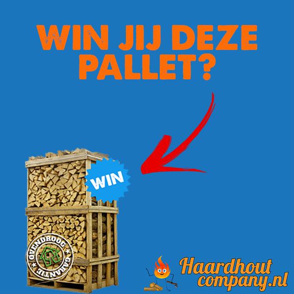 Win een pallet gratis haardhout #winnen #winactie #haardhout #ovengedroogd #haardhoutcompany