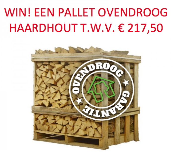 Win een pallet ovendroog haardhout van de Haardhoutcompany. Klik op de foto om mee te doen. #haardhout #hout #houtkachel #openhaard #uwhaard #haardhoutcompany