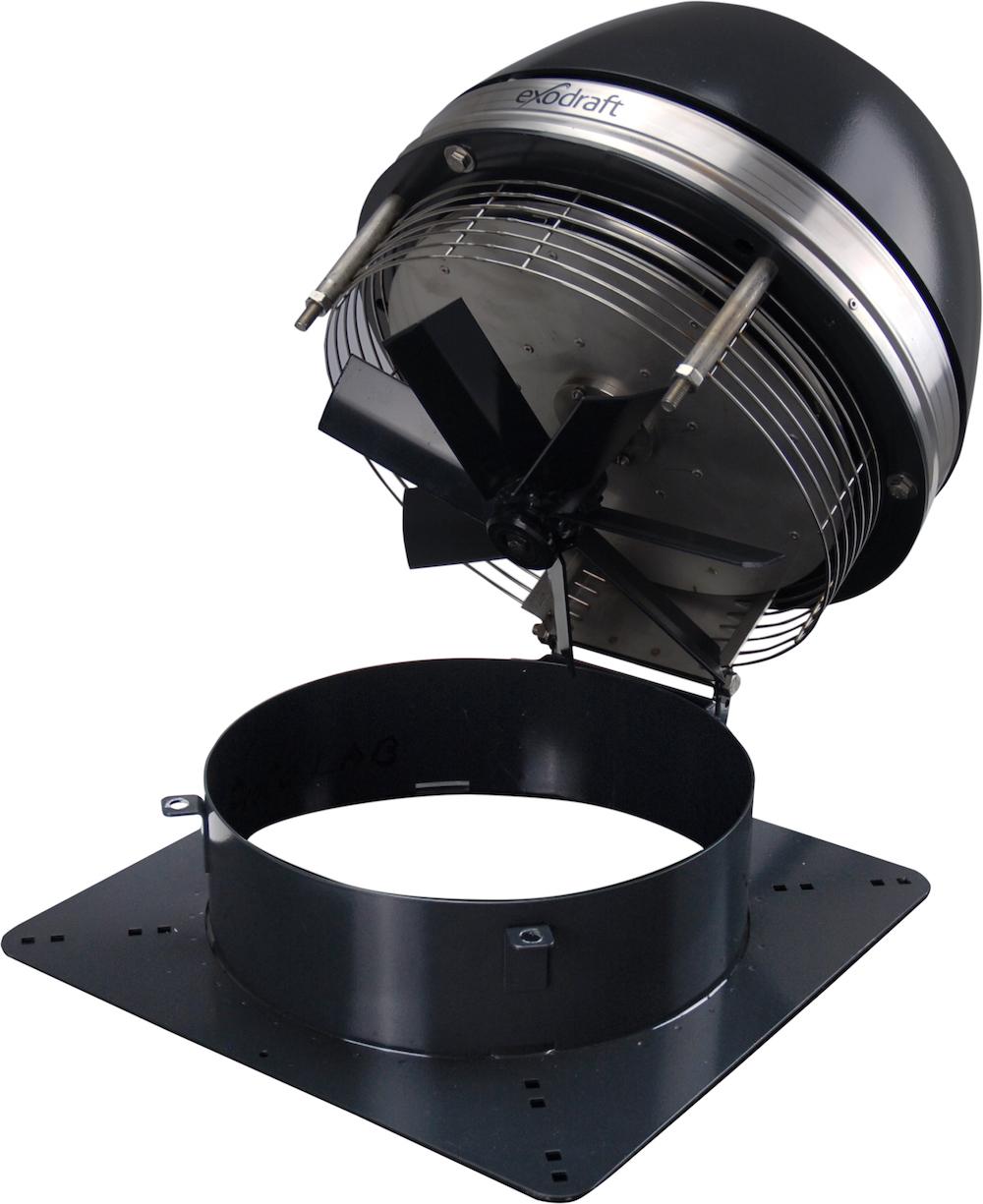 Rookgasventilator om veilig en zonder zorgen de houthaard of gashaard te stoken - via Inatherm