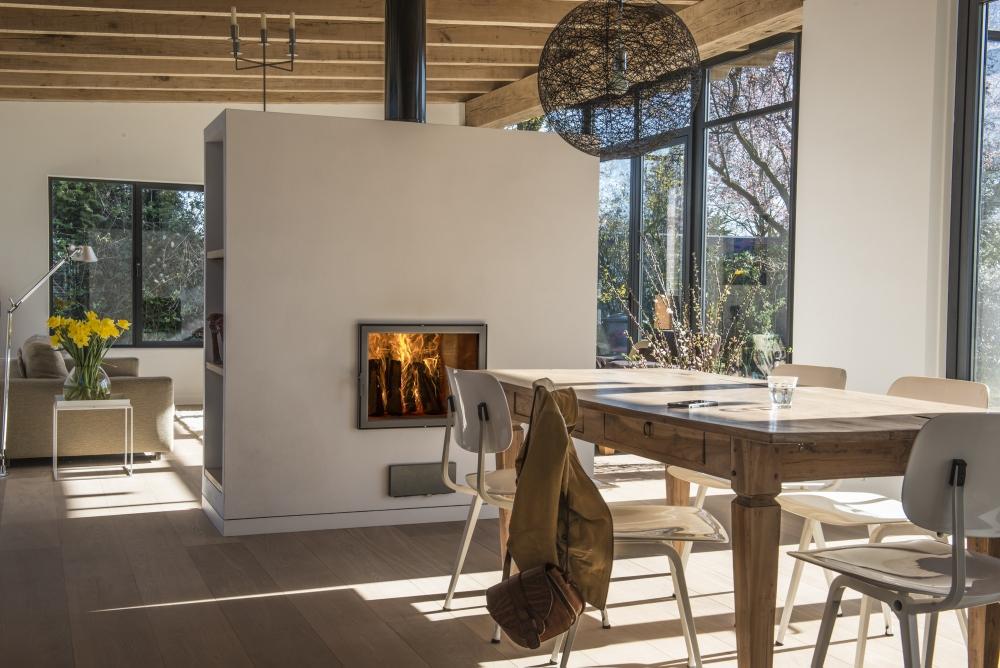 Doorkijkhaarden startpagina voor sfeerverwarmnings idee n uw - Ruimte model kamer houten ...
