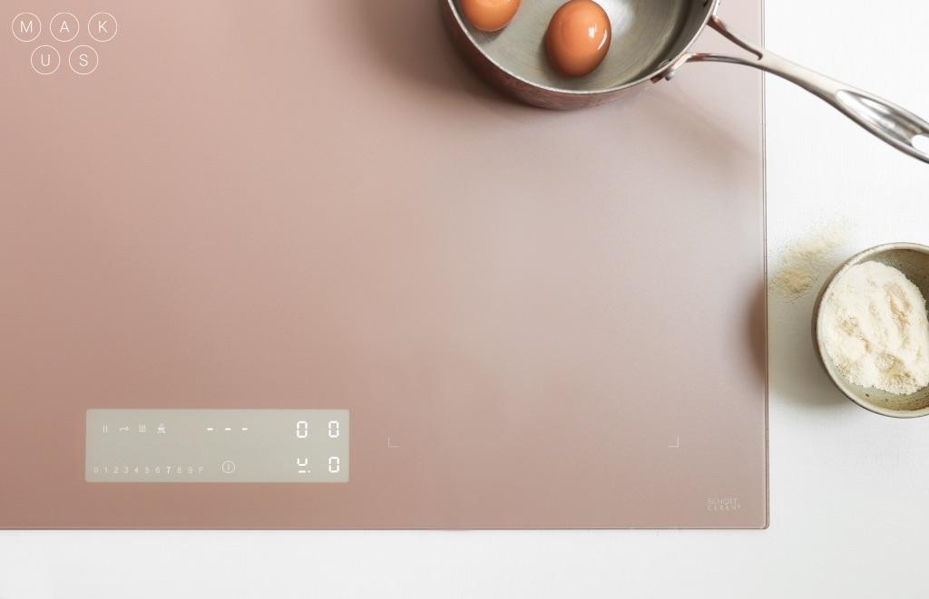 Duurzaam koken in stijl met de MAKUS design inductiekookplaat #makus #inductie #schottceram #kookplaat #keuken