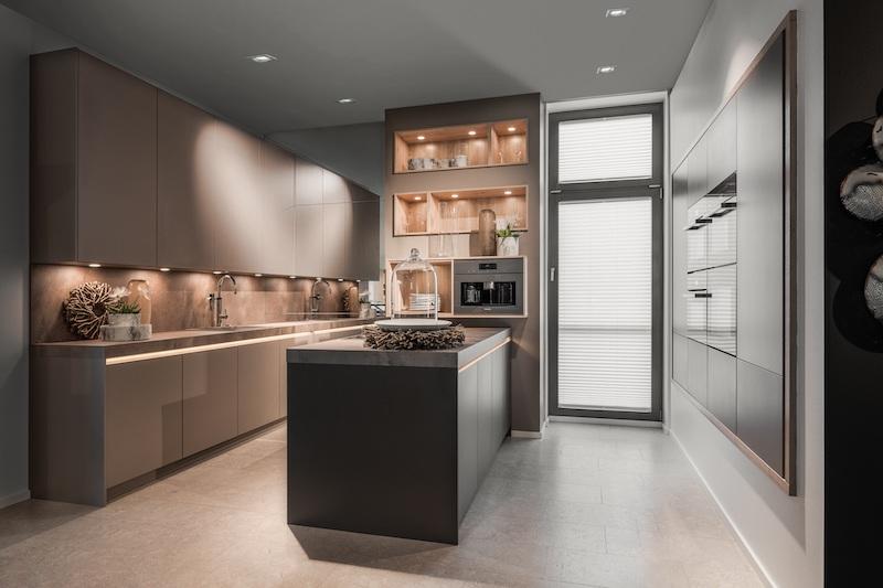 Kuchenmeile 2021. Innovaties en creatieve ideeën om de keuken nog eigentijdser te maken. Keuken van Brigitte Kuchen #keuken #kuchenmeile #kuchenmeile2021 #keukenideeen #keukeninspiratie #noviteiten #completekeuken