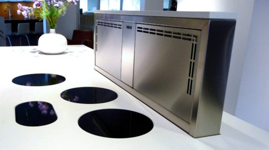 i-cooking induction system | ABK InnoVent