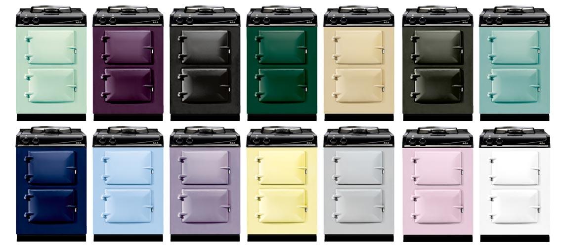 Het kleine AGA fornuis City60 is er in 14 kleuren!