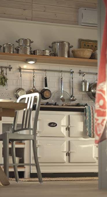 Landelijke Keukens Aga : Het elektrische Dual Control fornuis van AGA Nieuws