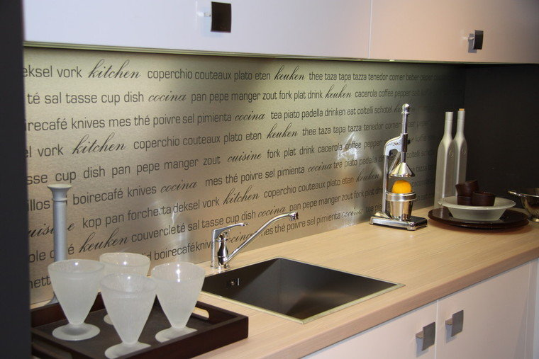 Glasplaat Keuken Ikea : Glasplaat Keuken Met Tekst : combineren uitstekend in een keuken met