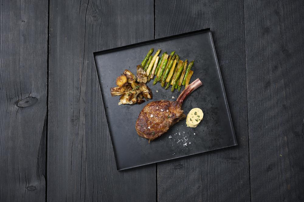 Indoor grillen Tepan kookveld Bora #grillen #kookboek #recepten #zalm #bora