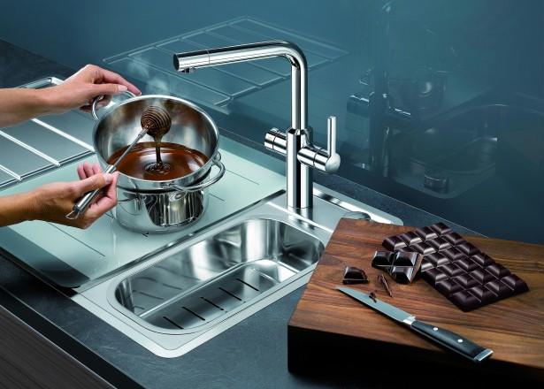 Kokend water kraan | Complete keuken mengkraan | BlancoHot