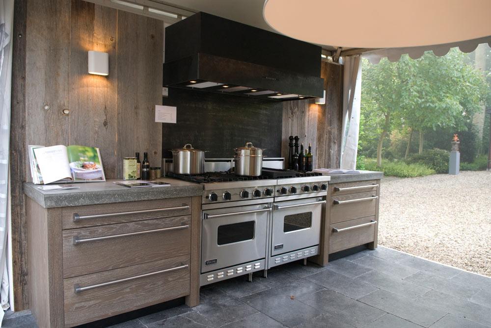 Buitenkeukens en barbecues nieuws startpagina voor tuin for Foto op hout maken eigen huis en tuin