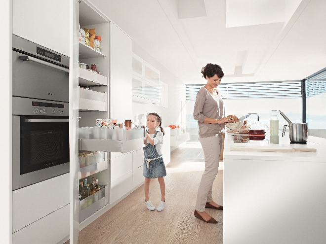 Slim de keuken indelen | Blum dynamic space