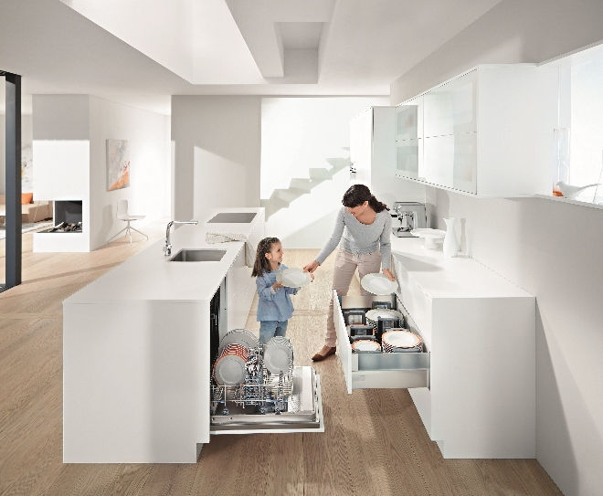 Keuken slim indelen | Blum Dynamic Space