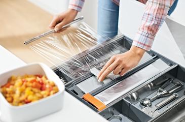 Foliesnijder voor de keukenlade - Orgalux
