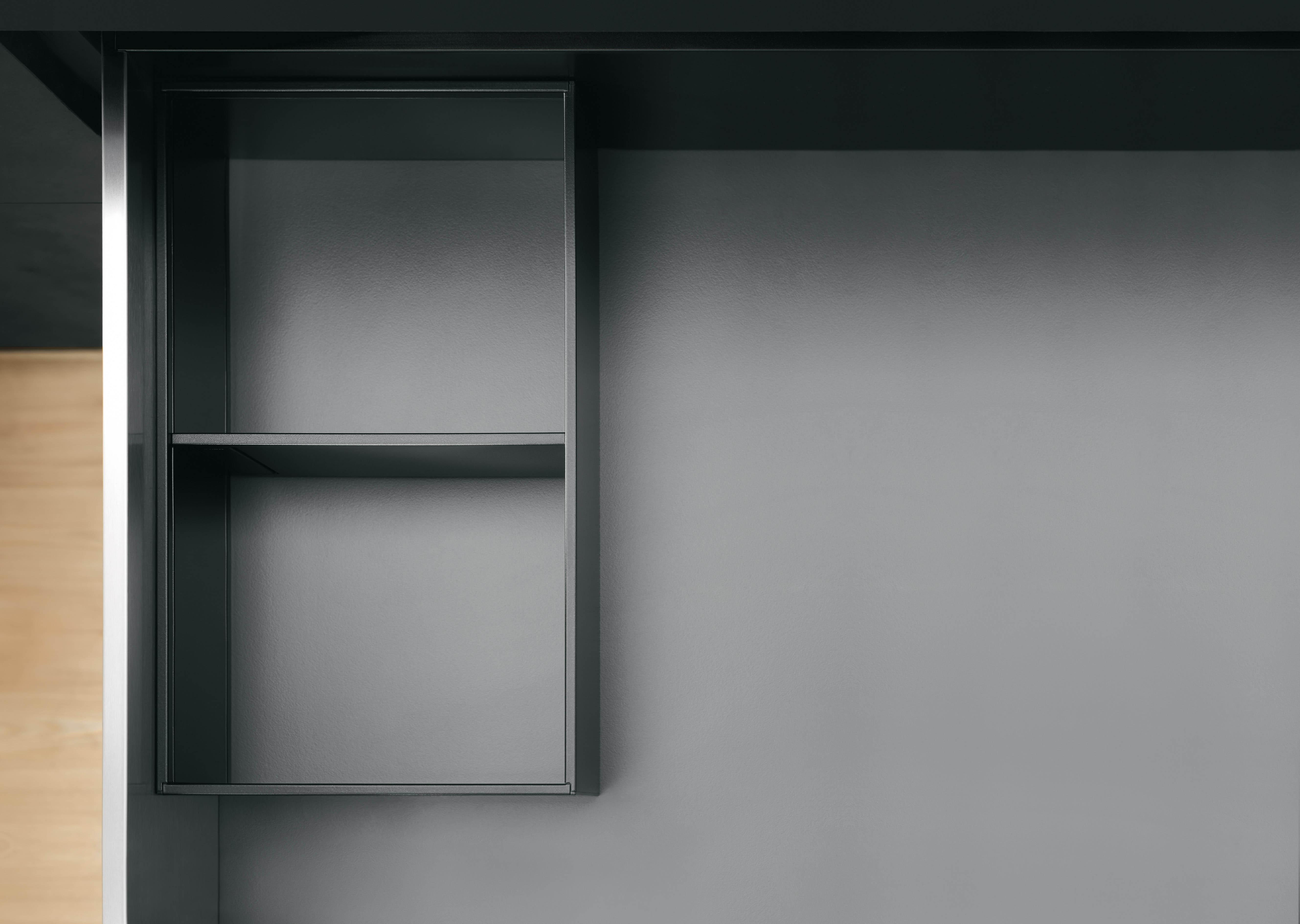 Lade-indeling keuken met magnetische Legrabox van Blum