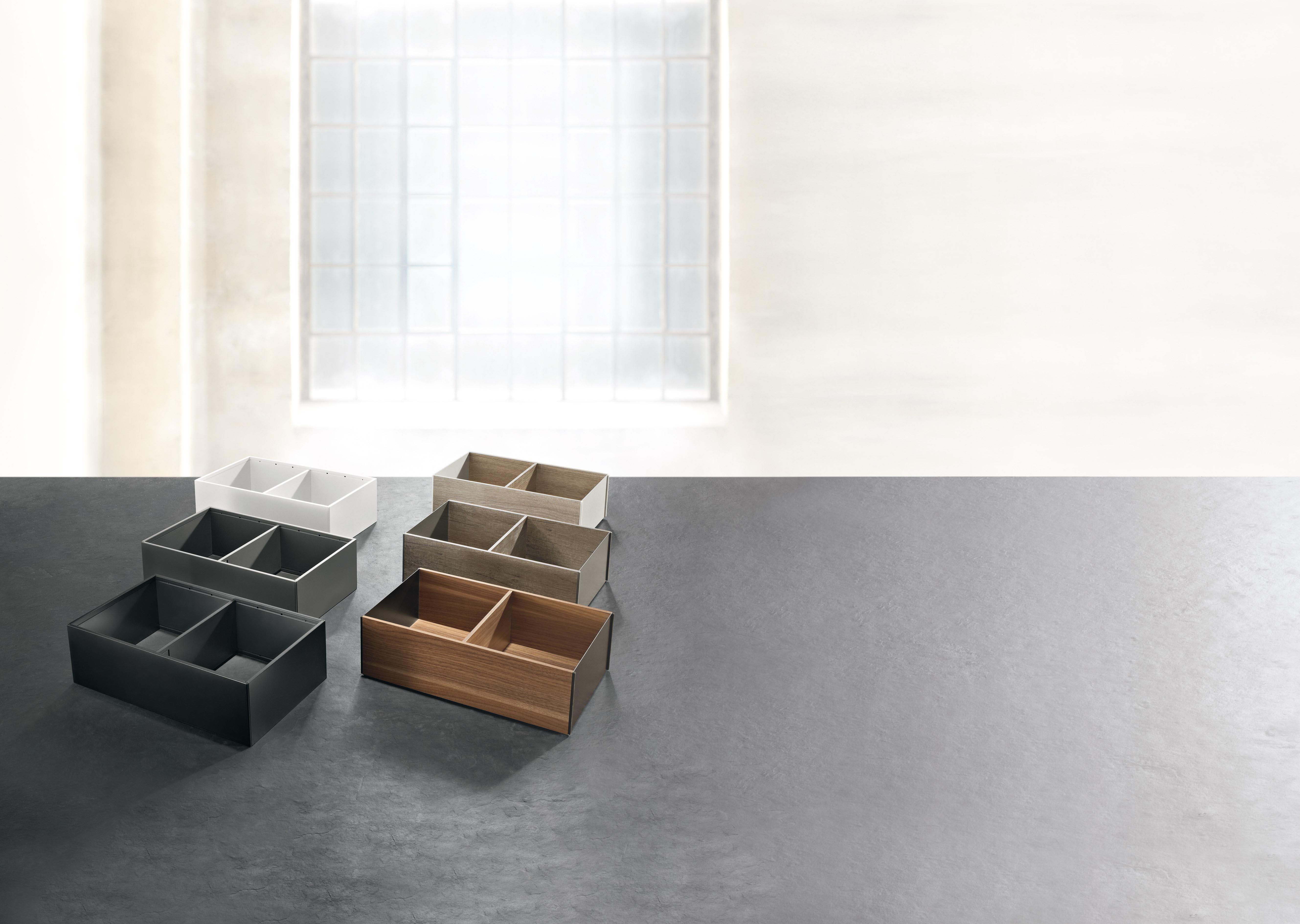 Perfect de keukenlade indelen met Legrabox van Blum