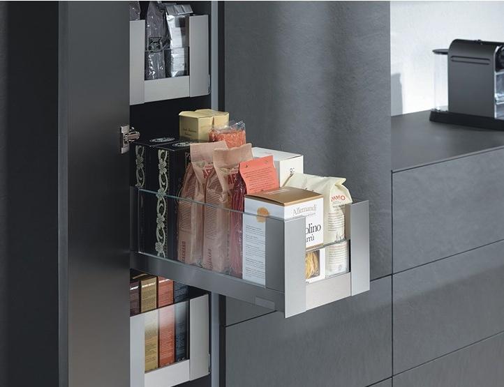 Extra opbergruimte met de nieuwe voorraadkasten van Blum - Nieuws ...