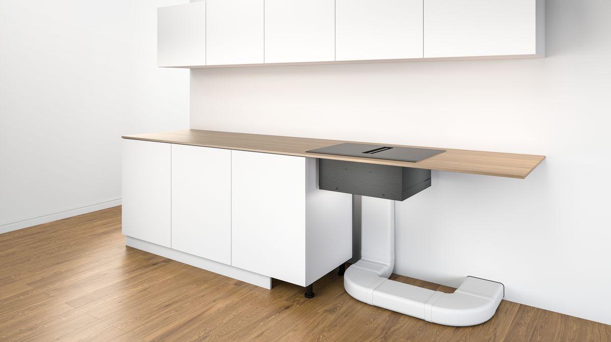 Bosch inductiekookplaat met geïntegreerde afzuiging: de werking en de mogelijkheden #keuken #keukenidee #keukentip #kookplaat #inductie #bosch