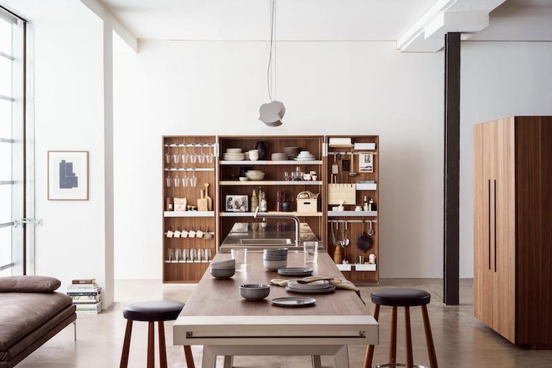 bulthaup b2 keuken: kookatelier met uniek ordeningsprincipe #keuken