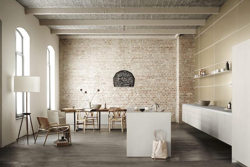 bulthaup b3 open woonkeuken in warme kleuren #keuken