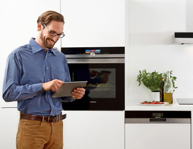 Connectivity in de keuken: keukenapparatuur met internetverbinding - Siemens iQ700