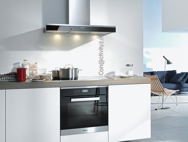 Connectivity in de keuken: keukenapparatuur met internetverbinding - Miele afzuigunit & kookplaat