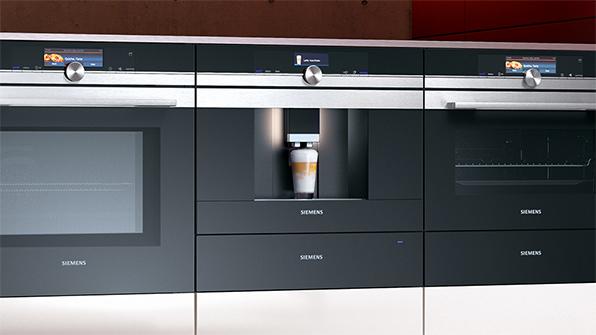 Connectivity in de keuken: keukenapparatuur met internetverbinding - Koffievolautomaat van Siemens welke op afstand kan worden bediend