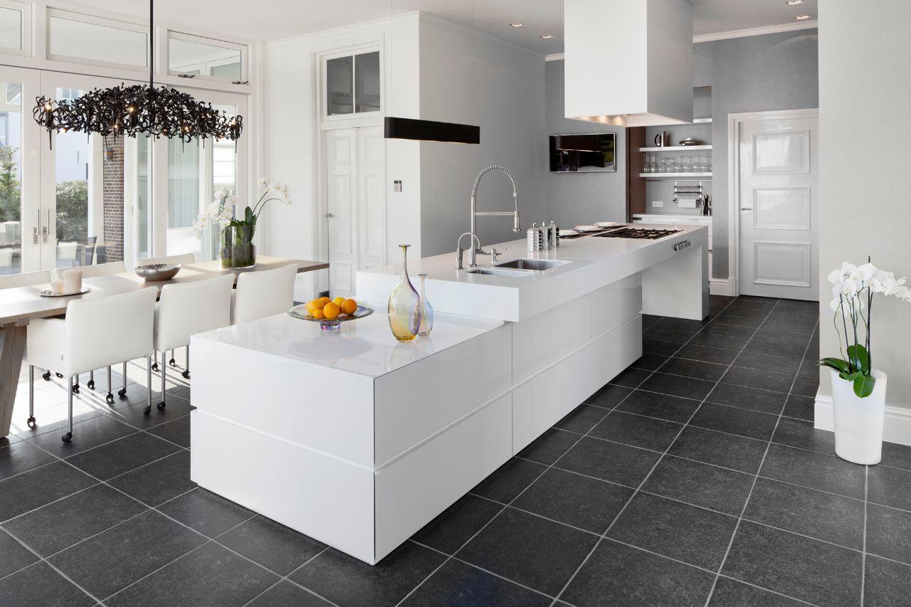 Witte Hoogglans Keuken Met Betonnen Blad : Moderne Keukens Startpagina voor keuken idee?n UW-keuken.nl