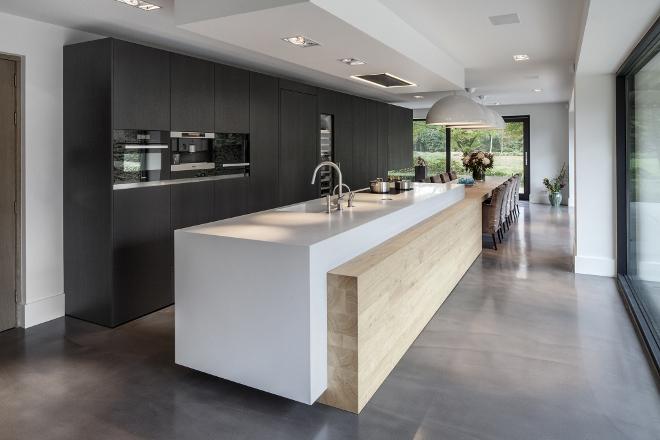 Landelijke Keuken Met Schiereiland : Design keukens – Startpagina voor vloerbedekking idee?n UW-vloer.nl
