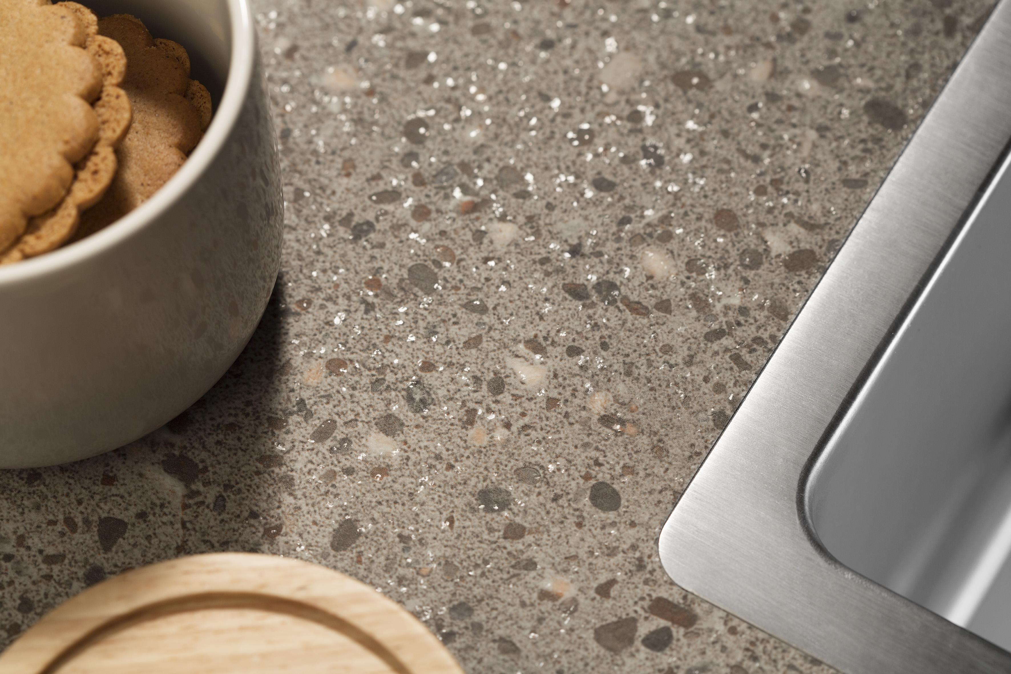 Decortop werkblad keuken met laminaat - Dekker Zevenhuizen