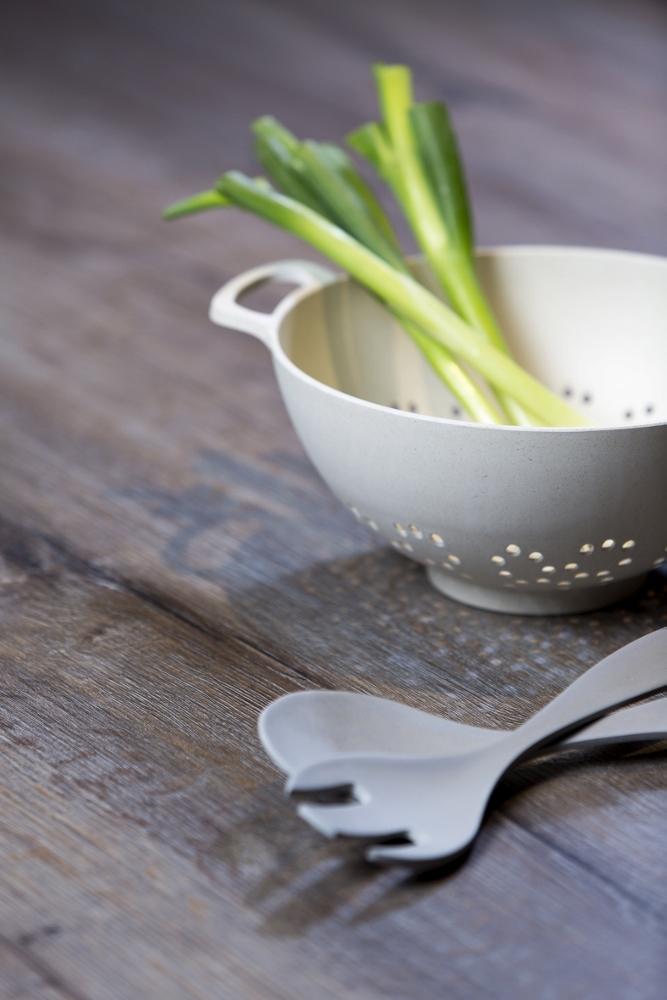 Werkblad voor de keuken met houtlook - Toplaminaat via Dekker
