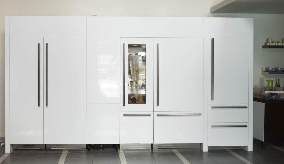 Stel zelf je ideale koelwand samen met de design koelmodules van het Italiaanse Fhiaba