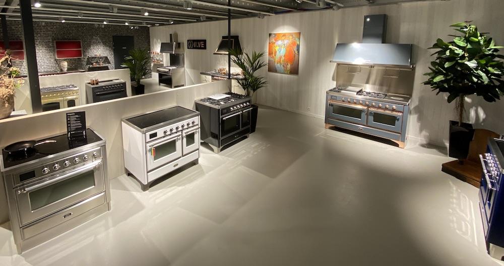 Fornuis kopen. Showroom ILVE fornuizen Nederland #fornuizen #ILVE #showroom #fornuiskopen