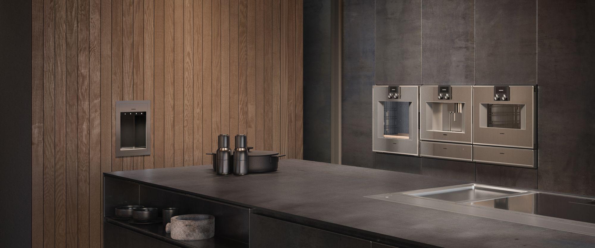 Gaggenau inbouwapparatuur 400 serie #gaggenau #ovens #inbouwapparaten #koffievolautomaat #bakoven #keuken