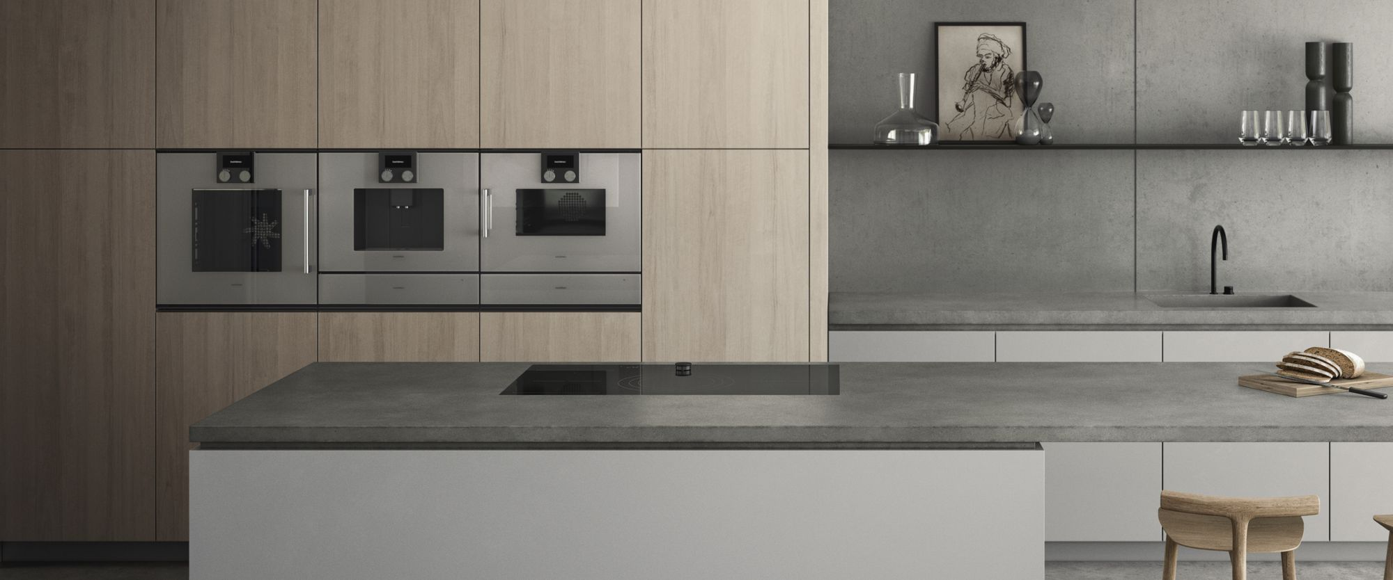 Gaggenau apparatuur 200 serie #gaggenau #oven #bakoven #koffievolautomaat #inbouwapparatuur #keukenapparaten #keuken