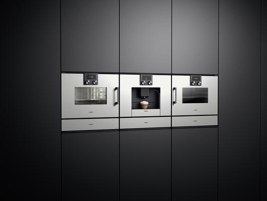 combi-stoomoven koffievolautomaat combi-magnetron | Gaggenau 200 serie