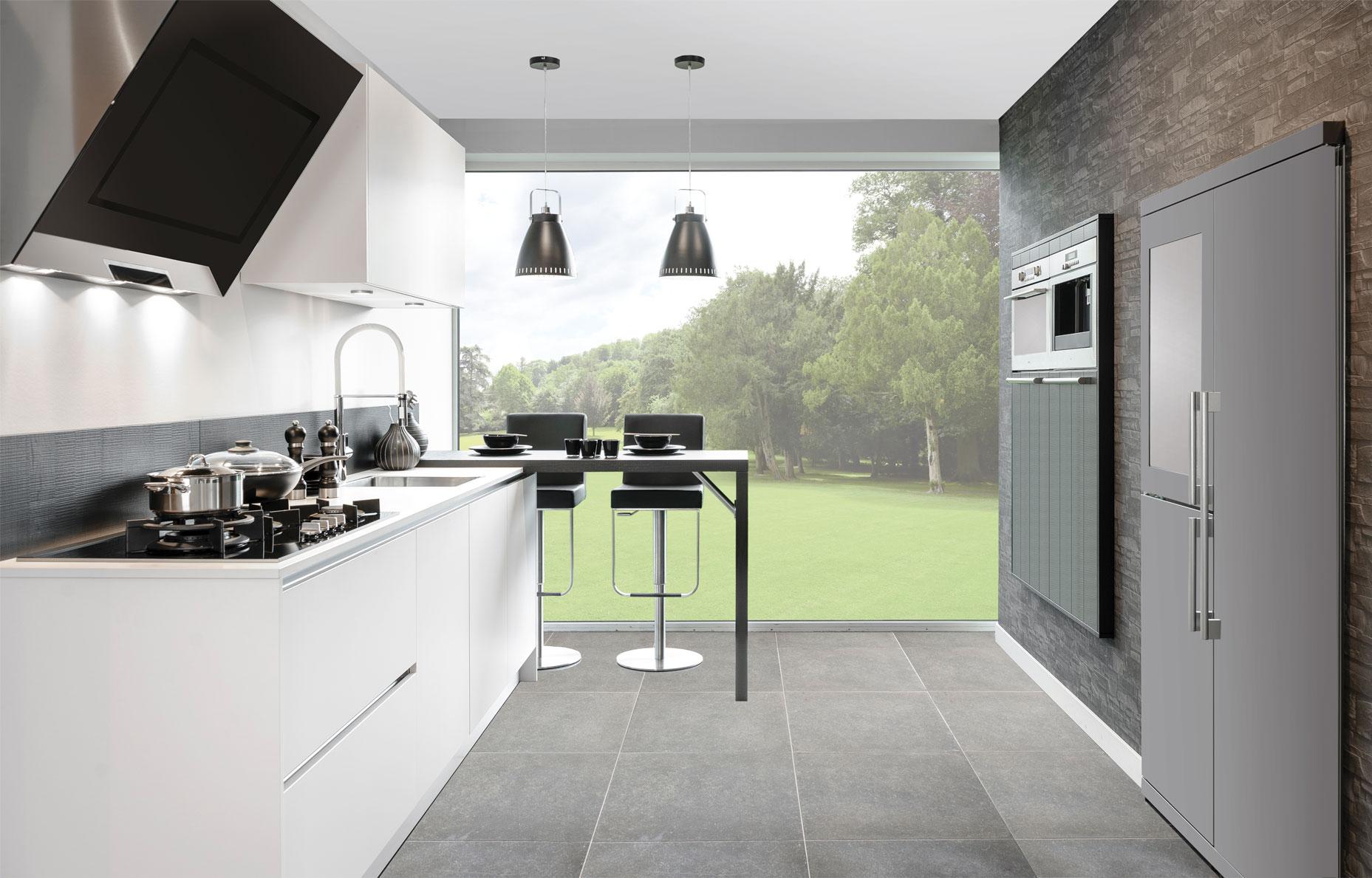 Keuken Van Grando Zwart Wit Cubic : ... keukenstijl! - Nieuws ...