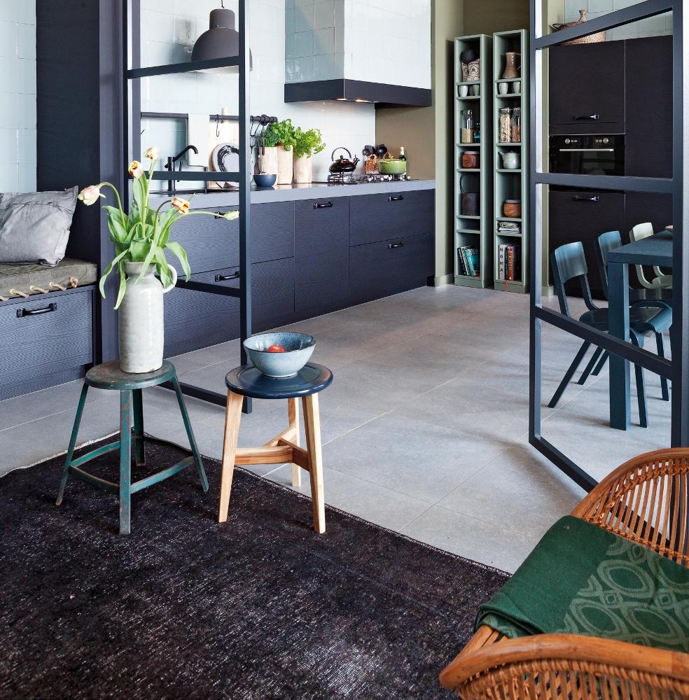 Stoere Robuuste Keuken : zitgedeelte – Nieuws Startpagina voor keuken idee?n UW-keuken.nl