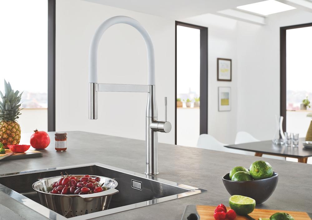 Design Keuken Kraan : Grohe professionele keukenkranen eyecatcher in je keuken nieuws