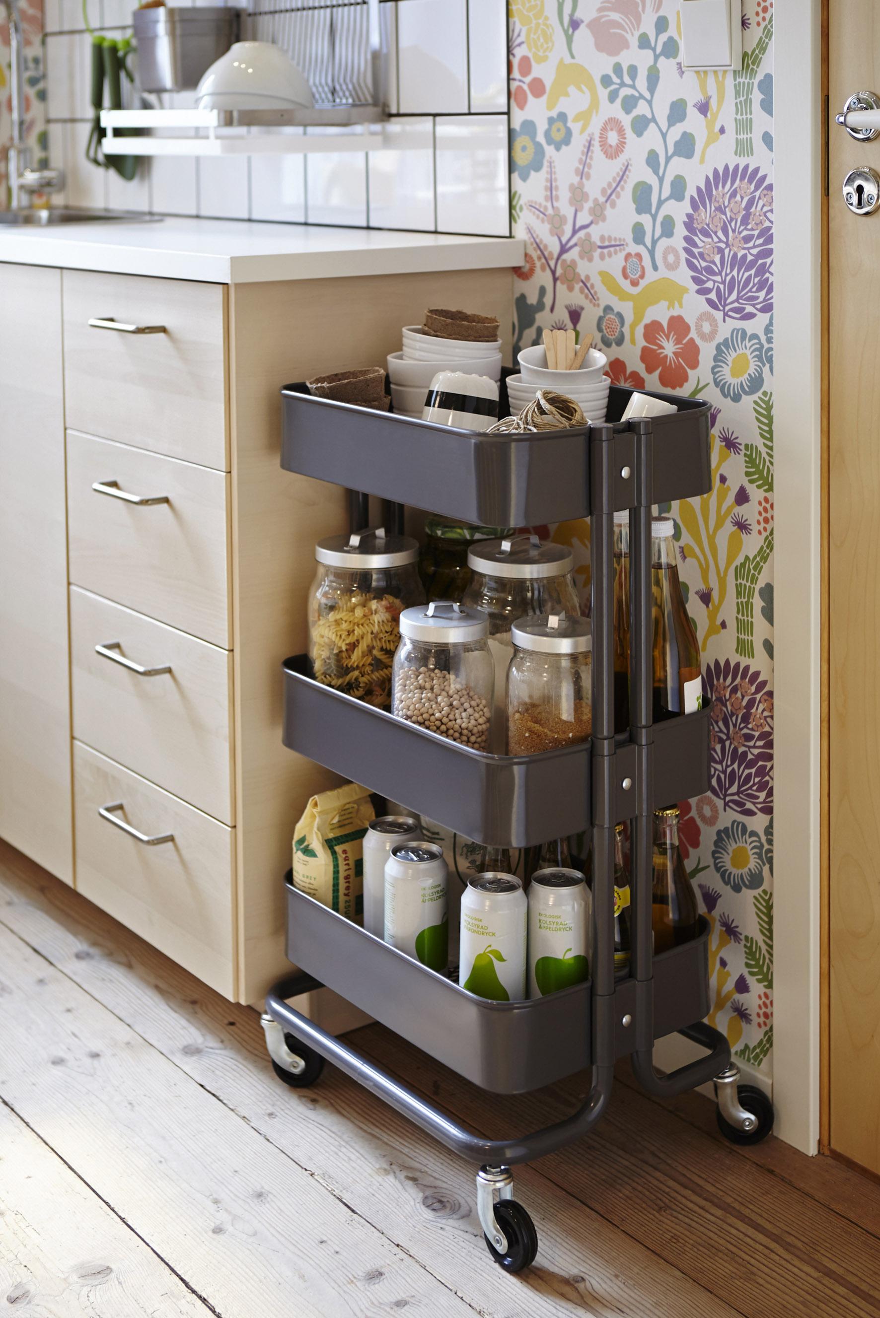 Ikea keuken roltafel opbergen