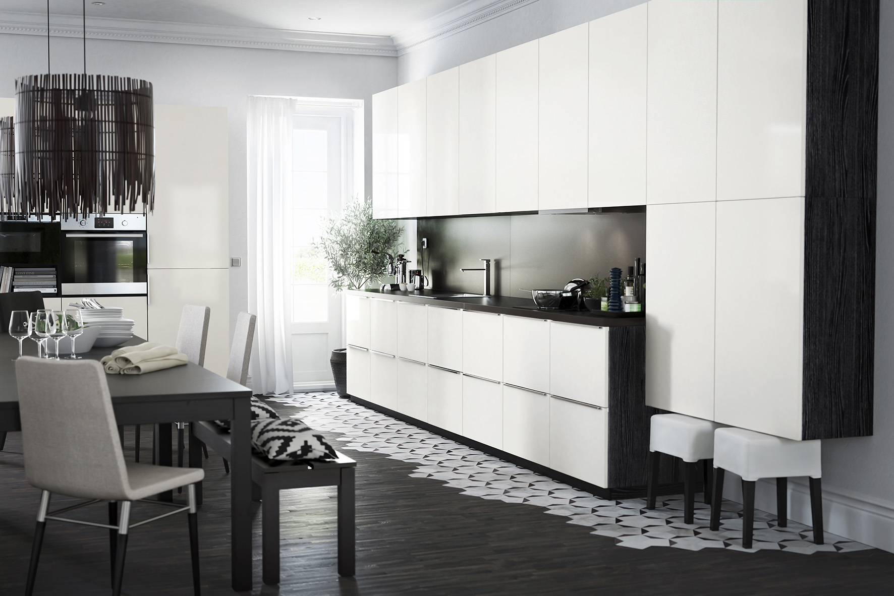 Keuken Wit Ikea : Sektion IKEA Kitchen Cabinets