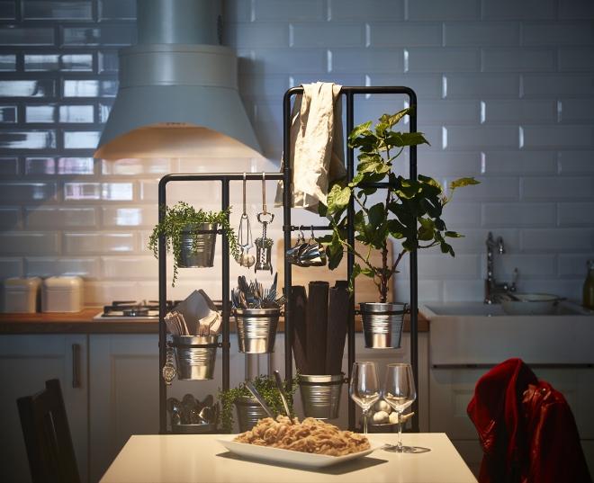 Ikea opbergrek keukenspullen keuken