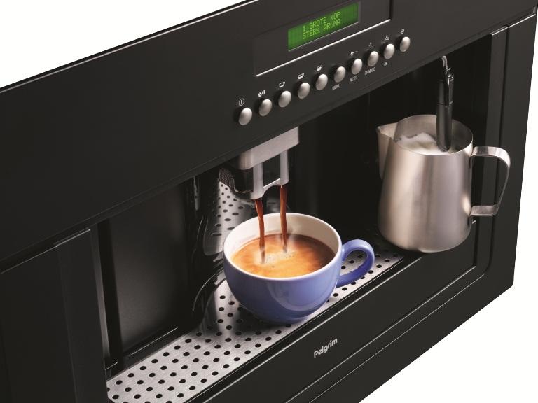 Pelgrim inbouw koffiemachine