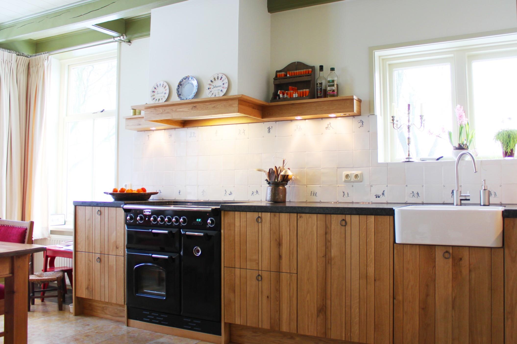 Authentiek houten keuken | Maatwerk by JP Walker