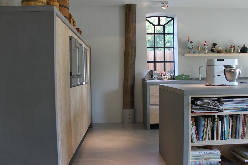JP Walker moderne keuken van essenhout en beton Nieuws