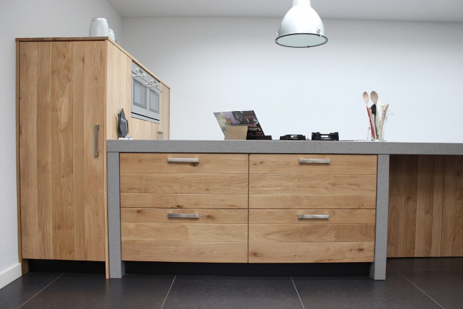 Houten Keuken Beton : Maatwerk houten keukens van jp walker nieuws startpagina voor